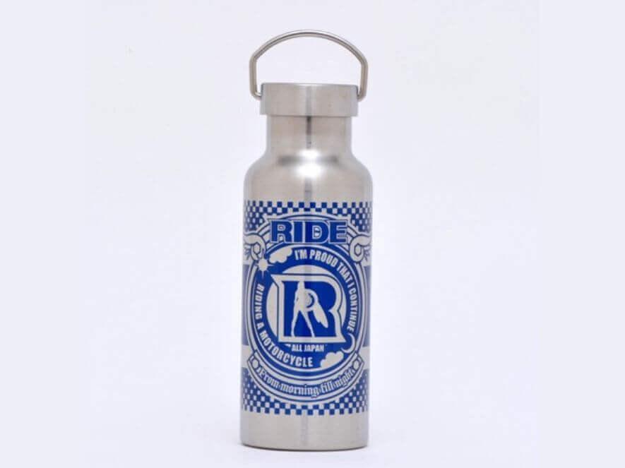 RIDEオリジナルデザインのステンレスボトル